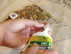 How to Make a Mosaic Wall Hanging