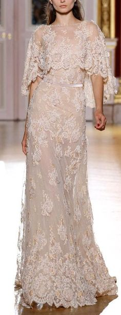 Zuhair Murad Fall 2012 Couture Wedding Dress