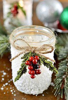 Berries and Twine Mason Jar