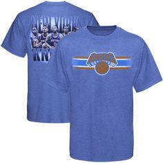 Levelwear New York Knicks City Back T-Shirt - Royal Blue - $14.99
