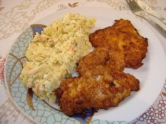 Opět jedno kuře jako z KFC Kfc, Czech Recipes, Thing 1, Cauliflower, Food And Drink, Meat, Chicken, Vegetables, Czech Food