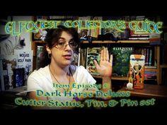 Dark Horse Deluxe Cutter Statue, Tin, Pin set: Item Episode #5