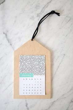 2015 Printable Calendar and DIY from Nalles House