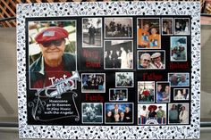 funeral picture display ideas | Sue shared the following testimonial following the passing of her ...