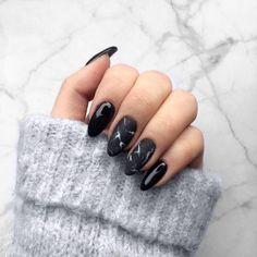 "1,000 Likes, 74 Comments - ℕᎪᎢᎪᏞᎥᎪ ⚜️ (@natalia.tomaszek) on Instagram: ""#marblenails #neonailpoland #neonail #mattenails #blacknails """