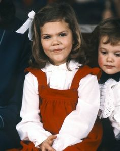 The Three Princesses: Crown Princess Victoria and Prince Carl Philip of Sweden ... Early years.