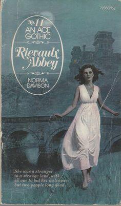 Rievaulx Abbey Norma Davison Ace Gothic #11 paperback good condition vintage