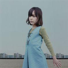 The Blue Dress  photo by Loretta Lux, 2001