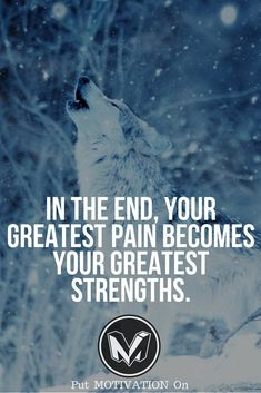 Your pain your strength