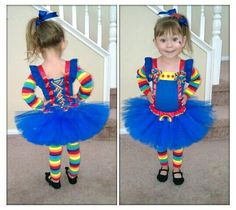 Product description: Inspired by cartoon favorite Rainbow Brite, this Rainbow Girl tutu costume set is a fun idea for a Halloween costume, theme party Kids Costumes Girls, Family Costumes, Halloween Costumes For Girls, Halloween Cosplay, Diy Costumes, Halloween Kids, Toddler Girl Halloween Costumes, Costume Ideas, Halloween 2018