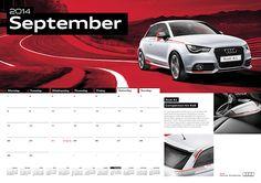 Audi Genuine Parts & Accessories Calendar 2014 - 10