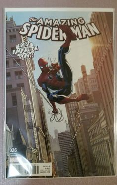 Amazing Spider-man #26 Variant Edition cover Marvel Comics comic book