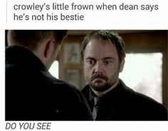 Supernatural season 10 aka Crowley wants a friend but it has to be Dean Winchester