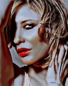 Original Celebrity Painting by Acqua Luna Cate Blanchett, Saatchi Art, Original Paintings, Halloween Face Makeup, Art Gallery, Art Prints, The Originals, Artwork, Faces