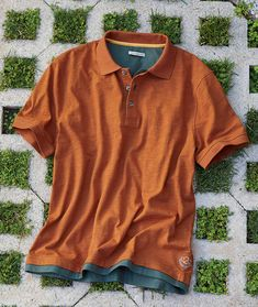 Men's Short Sleeve Catalyst Polo in Cotton Swag Outfits Men, Casual Outfits, Mens Polo T Shirts, Mens Outdoor Clothing, Hunting Clothes, Outdoor Outfit, Mens Clothing Styles, Menswear, Men Casual