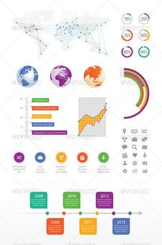Global Business Info graphic - Infographics