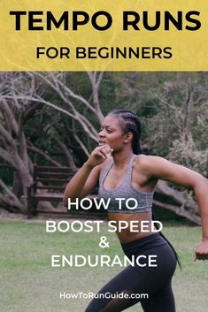 Give yourself a gift: add tempo runs to your training schedule, asap. Because 'future-you' will become much faster, have more endurance, and be a happy runner! Want to sustain a faster pace… Learn To Run, How To Start Running, How To Run Faster, Marathon Tips, Half Marathon Training, Marathon Running, Running Workouts, Running Tips, Body Workouts
