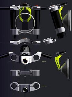 Moto-Mucci: ART&DESIGN: Husqvarna Vitpilen 701 Concept Sketches