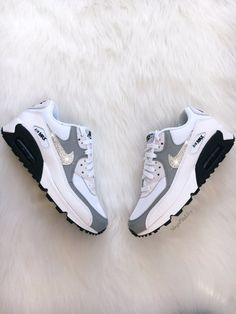 new concept 2887a 60353 Brand New in Box Authentic Blinged Womens Nike Air Max 90 Premium Running  Shoes. Nike