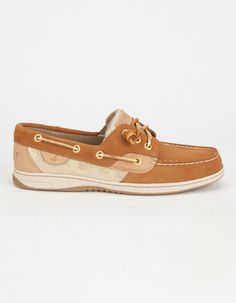 Sperry Ivyfish Womens Boat Shoes Cognac  In Sizes