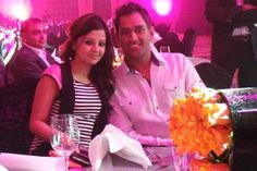 MS Dhoni with his beautiful wife Sakshi during an event! For more cricket fun click: http://ift.tt/2gY9BIZ - http://ift.tt/1ZZ3e4d