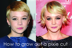 How to Grow Out a Pixie Cut | Hair Romance -- might be good to know in the future...