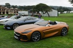 VIDEO: BMW Concept Z4 and 8 Series Coupe at Pebble Beach