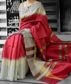 Stunning Dupion Silk Saree with Woven Patterns Dupion Silk Saree, Soft Silk Sarees, Cotton Saree, Indian Bridal Lehenga, Indian Beauty Saree, Ethnic Sarees, Indian Sarees, Indian Attire, Indian Wear