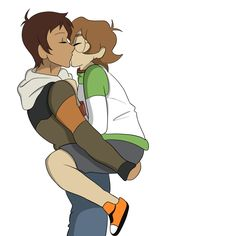 Lance and Pidge's Kiss from Voltron Legendary Defender
