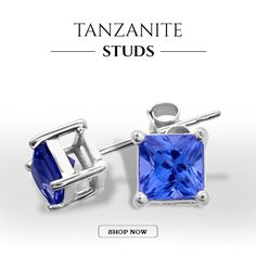 Find a large new Collection of Tanzanite Stud ,Tanzanite Stud Earrings on Top Tanzanite.
