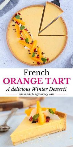 Mini Desserts, Dinner Party Desserts, Winter Desserts, French Desserts, Delicious Desserts, Winter Recipes, Easy Tart Recipes, Unique Recipes, Sweet Recipes