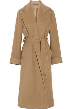 Ralph Lauren Collection. The perfect camel hair coat. just what I need Another long coat.  love them