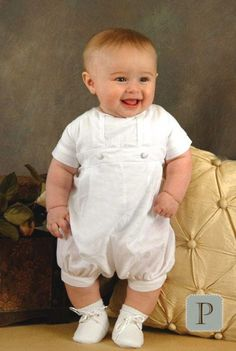 Brady Cotton Christening Outfits for Boys