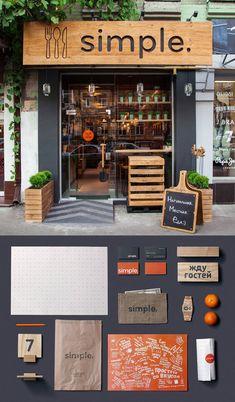 Brandon agency art directs for Simple Restaurant (Kiev, Ukraine)