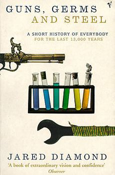 jared diamond guns germs and steel essay Guns, germs, and steel essaysguns, germs, steel, and controversy: diamonds unique look at evolution and history through out guns, germs, and steel, jared diamond attempts to explain the.