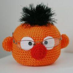 Ernie Crochet Glasses Holder Free Pattern