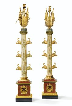 Large Vintage Wall Clocks, Large Clock, Gran Tour, Candlesticks, Candelabra, Neoclassical Architecture, Wall Clock Online, Tabletop Accessories, Home Libraries