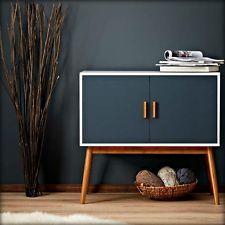 Wooden Storage Display Cabinet Box Chest Retro Modern Vintage Furniture Bedroom