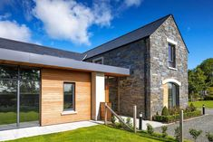 New Build In County Armagh Bungalow House Design, Modern Bungalow, Architecture Ireland, Architecture Design, Dream House Exterior, Dream House Plans, Bungalow Exterior, House Designs Ireland, House Construction Plan