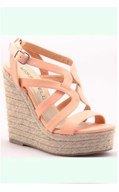 Peach Me I'm Dreaming Wedge Shoe