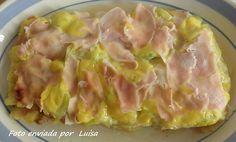 Recetas - Lasaña de calabacín al micro Microwave Recipes, Hawaiian Pizza, Potato Salad, Cabbage, Favorite Recipes, Healthy Recipes, Vegetables, Cooking, Ethnic Recipes