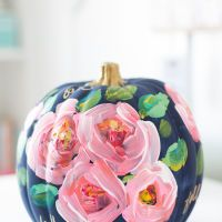 Painted Pumpkins You'll Wish You Could Leave Out All Year Long