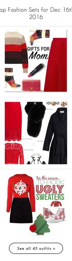 """Top Fashion Sets for Dec 16th, 2016"" by polyvore ❤ liked on Polyvore featuring rag & bone, Balenciaga, Valentino, Prada, NARS Cosmetics, giftguide, Diane Von Furstenberg, Gabriela Hearst, Lilly e Violetta and Charlotte Olympia"