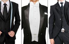 Anzug, Frack, Smoking