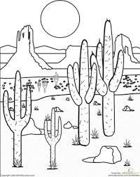 Learn How To Draw A Desert Scene Landscapes Landmarks Places