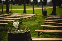 Image result for outdoor wedding benches