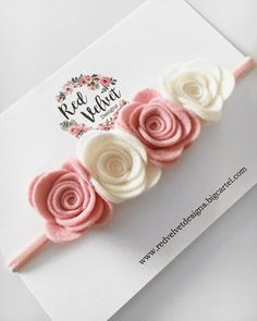 Our Floral Headbands will make a beautiful addition to your baby girls outfit. Our Felt headbands are perfect for your baby girl from birth as they...