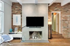 Brick Walls with a Concrete Mantel - The Ransom Company