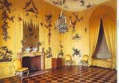 Potsdam.Sanssouci.Voltaire Room