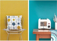 Vintage style: Peggy Wallpaper by Mini Moderns